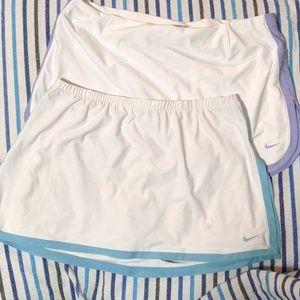 Nike tennis skort skirt bundle